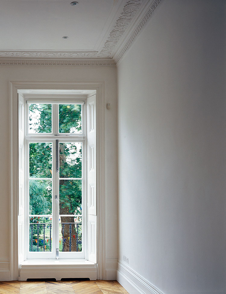 Fitzroy Square reception windows