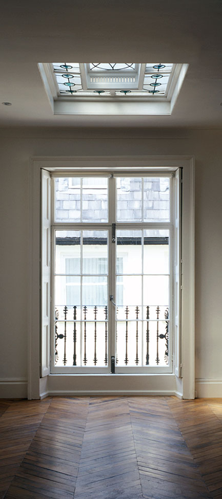 Fitzroy Square window