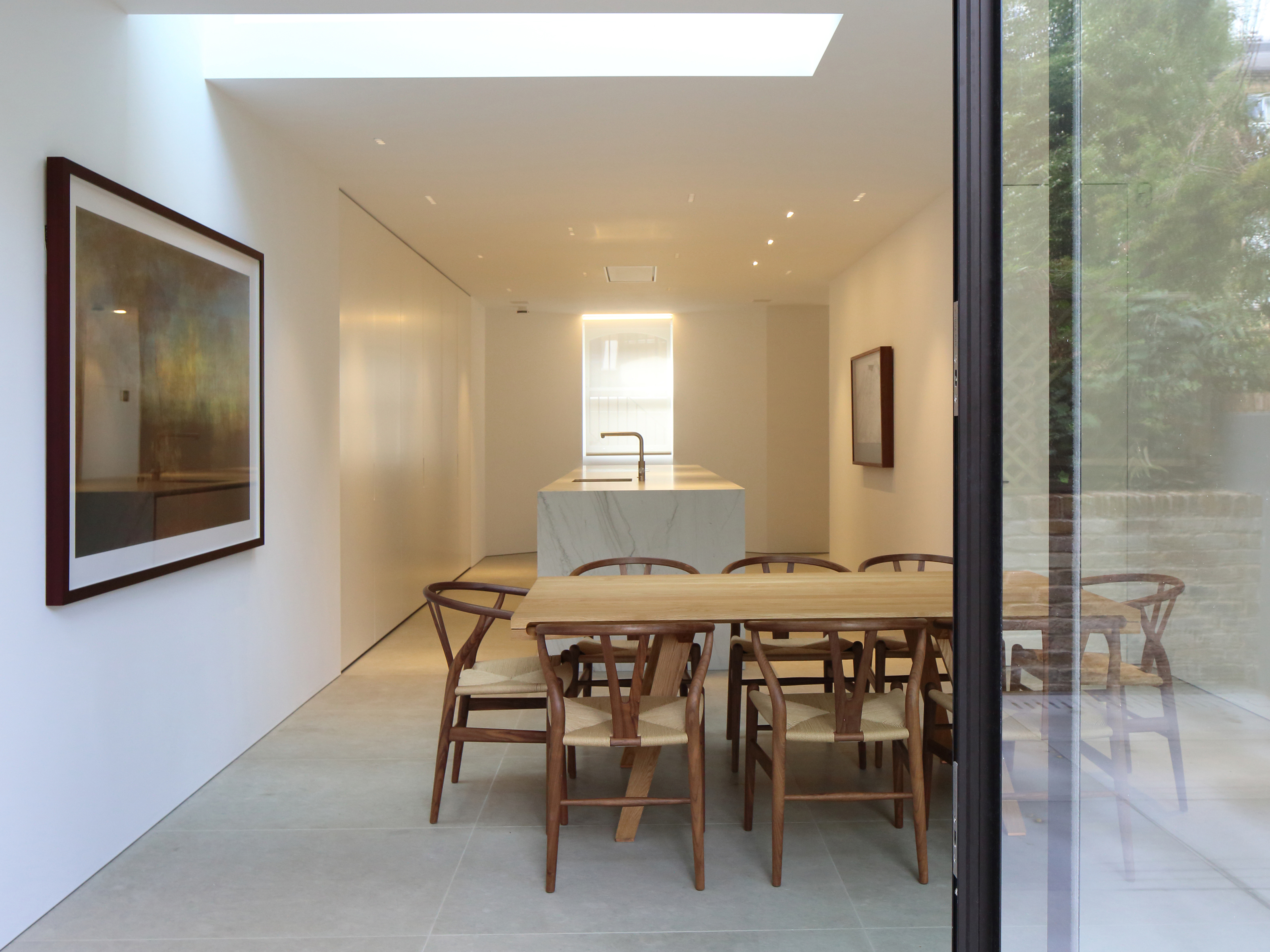 Kitchen Rooflight and Slim Section Glazing